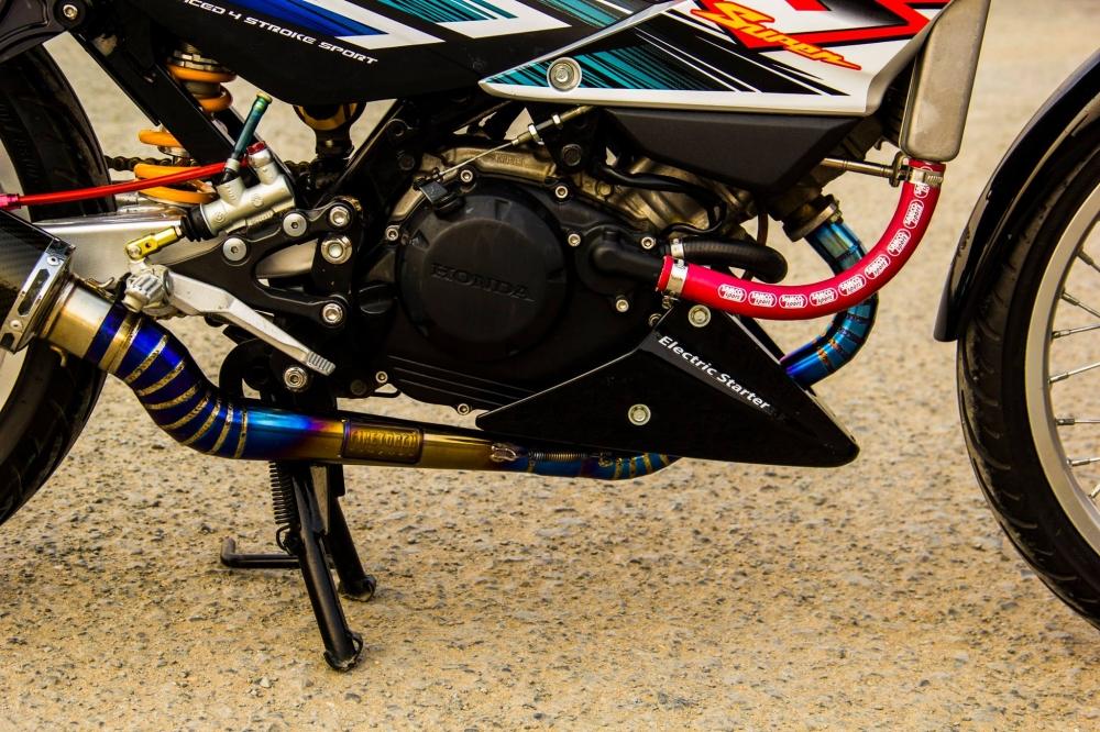 Honda sonic 125 độ full dàn đồ chơi hàng hiệu cực chất - 7