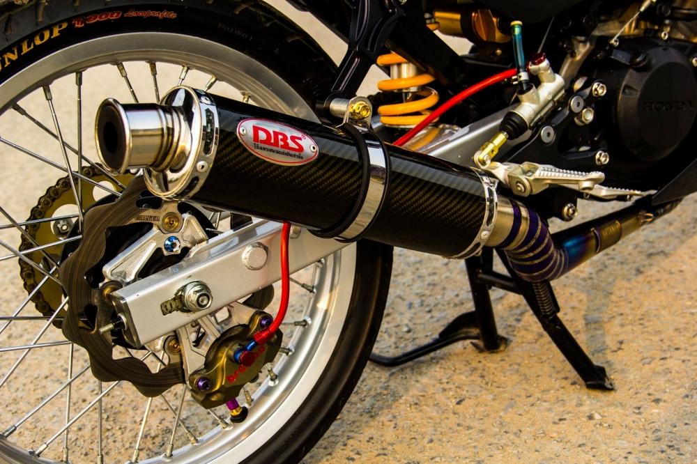 Honda sonic 125 độ full dàn đồ chơi hàng hiệu cực chất - 9