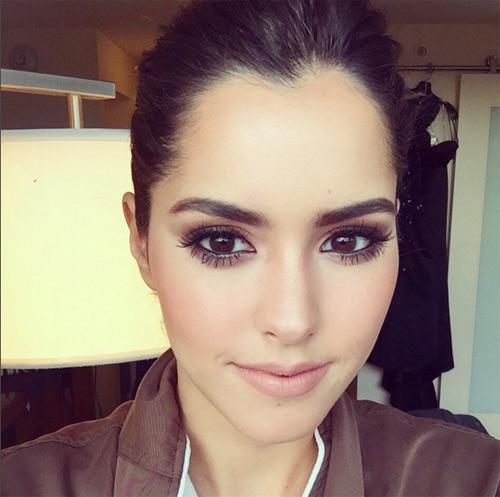 Ngắm mặt mộc xinh đẹp của hoa hậu hoàn vũ 2014