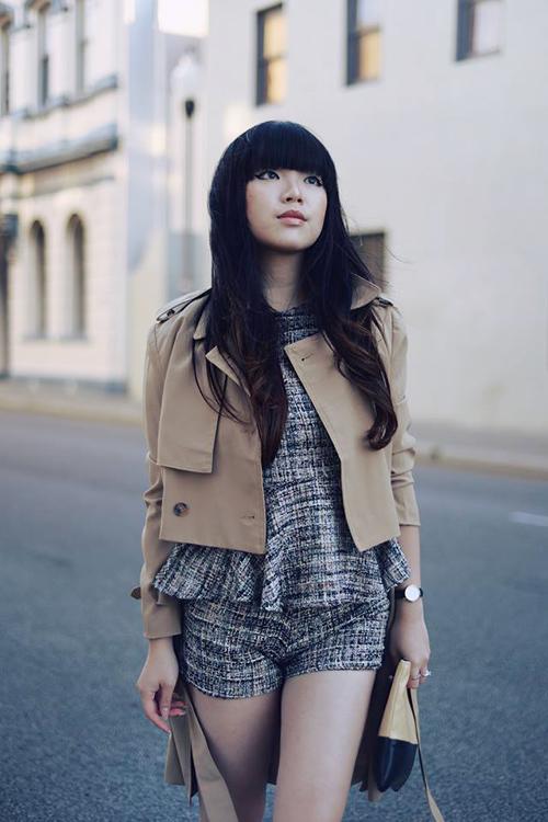 Nữ blogger thời trang nổi tiếng thế giới đến việt nam - 1