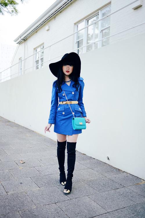 Nữ blogger thời trang nổi tiếng thế giới đến việt nam - 4