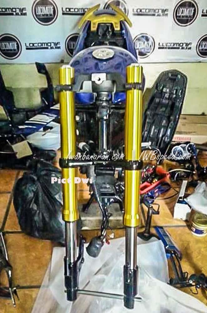 Fz150i độ dàn chân chất với phuộc usd đến từ m-slaz - 3