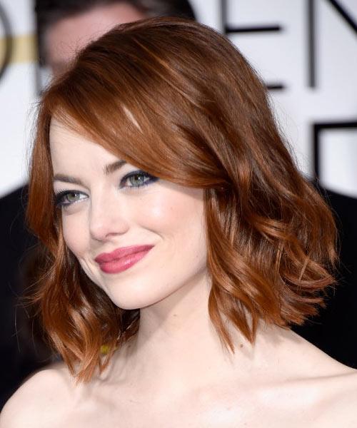 10 kiểu tóc bob ngắn đẹp nhất 2016 sao hollywood khuôn mặt tròn