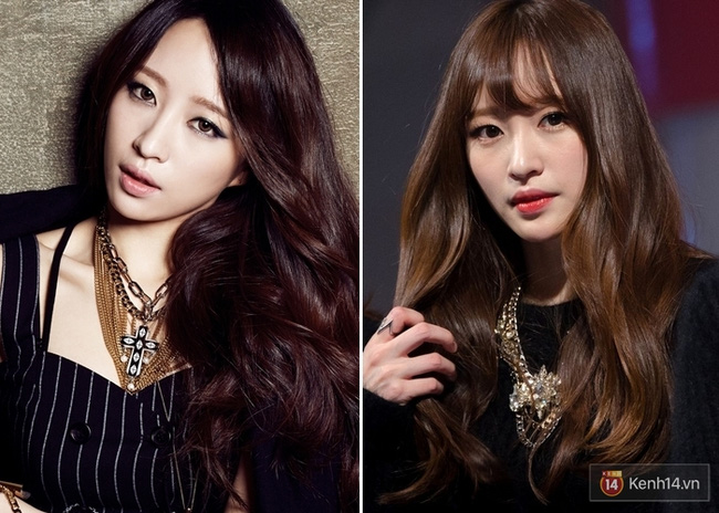 13 kiểu tóc mái tuyệt đẹp 2016 của các sao nữ kpop hàn quốc