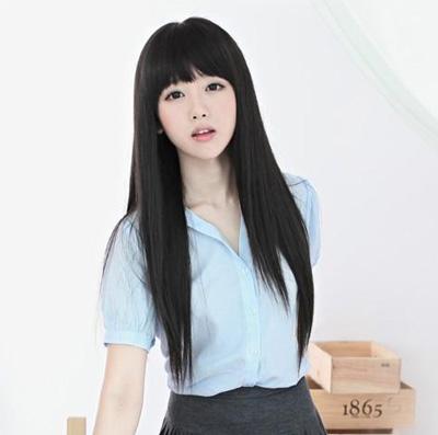 13 kiểu tóc nữ dài thẳng đẹp tự nhiên của các sao việt và kpop hàn quốc 2016 - 1