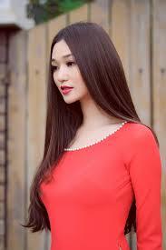 15 kiểu tóc mái dài rẽ ngôi giữa đẹp như hot girl việt 2016 - 7