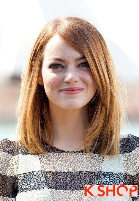 4 kiểu tóc đẹp 2016 đầy phong cách cho cô nàng có khuôn mặt tròn - 6
