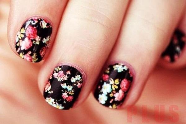 9 kiểu móng tay nail hình hoa đẹp 2016 đầy phong cách cá tính