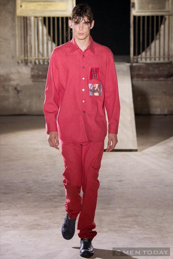 Bộ sưu tập thời trang nam xuân hè 2015 của raf simon - 7