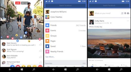 Đã có ứng dụng facebook chính chủ cho windows 10 mobile - 1