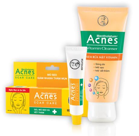 đánh bay sẹo và vết thâm sau mụn với acnes - 3