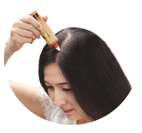 Giải pháp mới ngăn rụng tóc bằng tinh chất