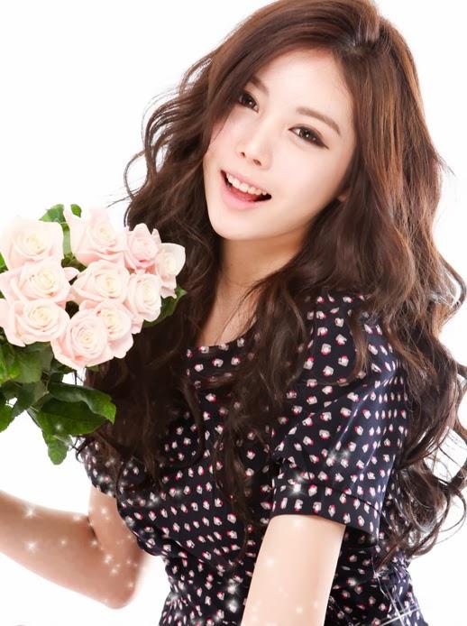 Kiểu tóc dài uốn xoăn sóng nhỏ đẹp 2016 cuốn hút sao kpop hàn quốc - 10