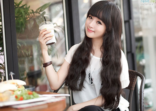 Kiểu tóc dài uốn xoăn sóng nhỏ đẹp 2016 cuốn hút sao kpop hàn quốc - 11