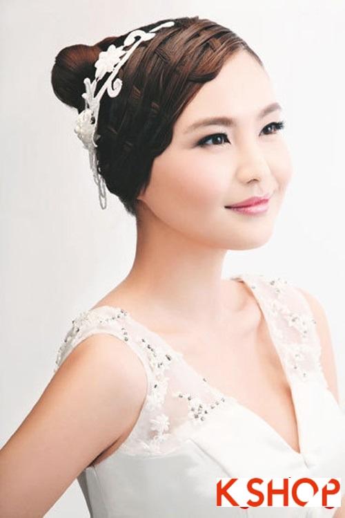 Kiểu tóc tết cô dâu đẹp 2017 đơn giản lãng mạn trong ngày cưới - 10