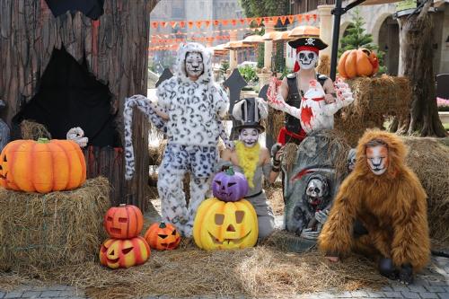 Lễ hội halloween huyền bí trên đỉnh bà nà - 6