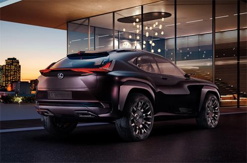 lexus ux concept - crossover hạng sang trong tương lai - 1