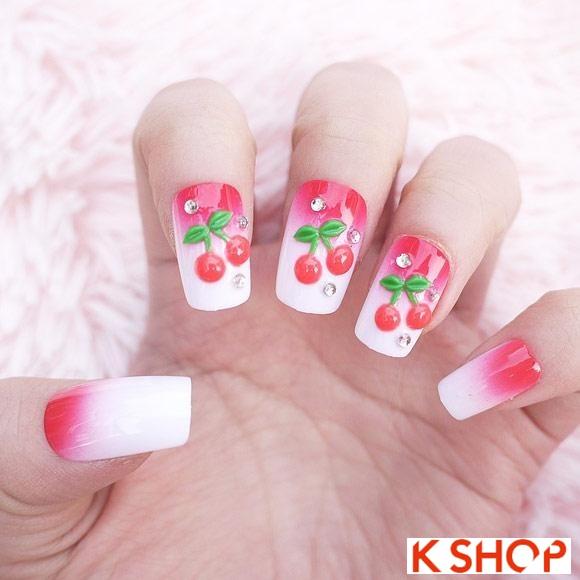 Mẫu nail móng tay cổ điển đẹp 2016 đơn giản cho cô nàng dễ thương - 2