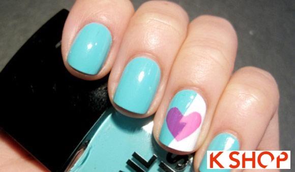 Mẫu nail móng tay cổ điển đẹp 2016 đơn giản cho cô nàng dễ thương