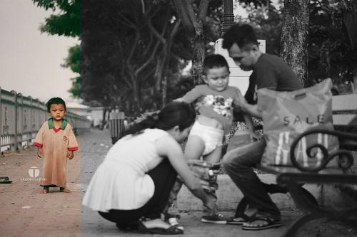 Những bức hình trẻ em khiến triệu người nhói lòng vì 1 cuộc đời 2 số phận - 2