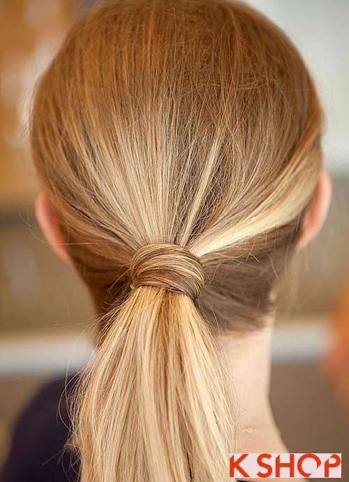 Những kiểu tóc đẹp đơn giản cho bạn gái tới công sở - 1
