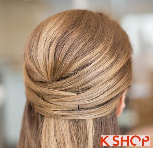 Những kiểu tóc đẹp đơn giản cho bạn gái tới công sở - 5