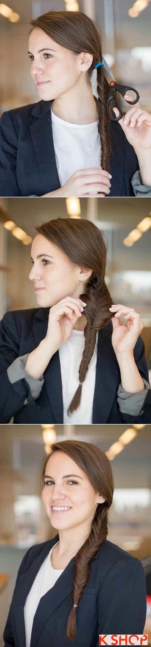 Những kiểu tóc đẹp đơn giản cho bạn gái tới công sở - 7