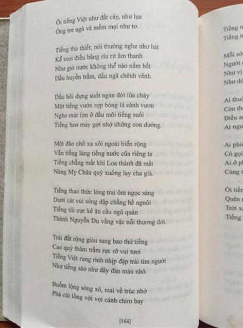 Tranh cãi về bài thơ tiếng việt bản nào là chuẩn bản nào hay - 2