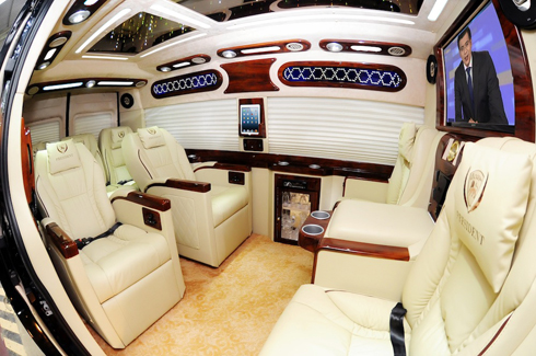 trào lưu độ nội thất limousine tiền tỷ ở việt nam - 1