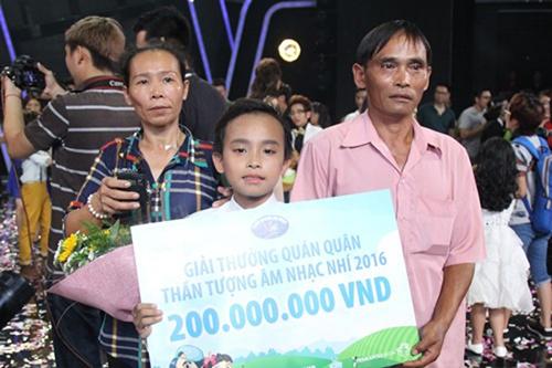 Vietnam idol kids 2016 hồ văn cường đoạt quán quân nhờ nước mắt khán giả - 1