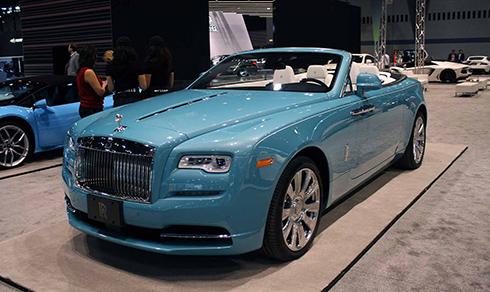 dàn siêu xe tụ hội ở triển lãm xe hơi chicago - 3
