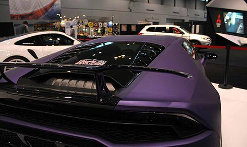 dàn siêu xe tụ hội ở triển lãm xe hơi chicago - 5