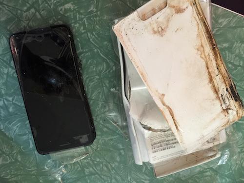 iphone 7 phát nổ khi còn trong hộp - 2