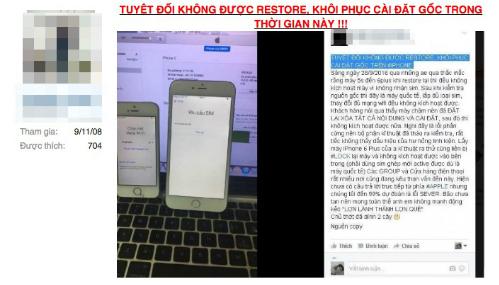 nhiều iphone hàng xách tay ở việt nam bị biến thành cục gạch - 1