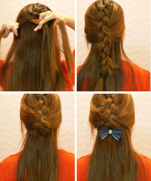 14 cách biến tấu với mái tóc cho các nàng vẻ đẹp hoàn hảo trong ngày 2010
