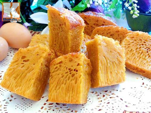 Bánh bò đường thốt nốt nướng tuyệt ngon - 8