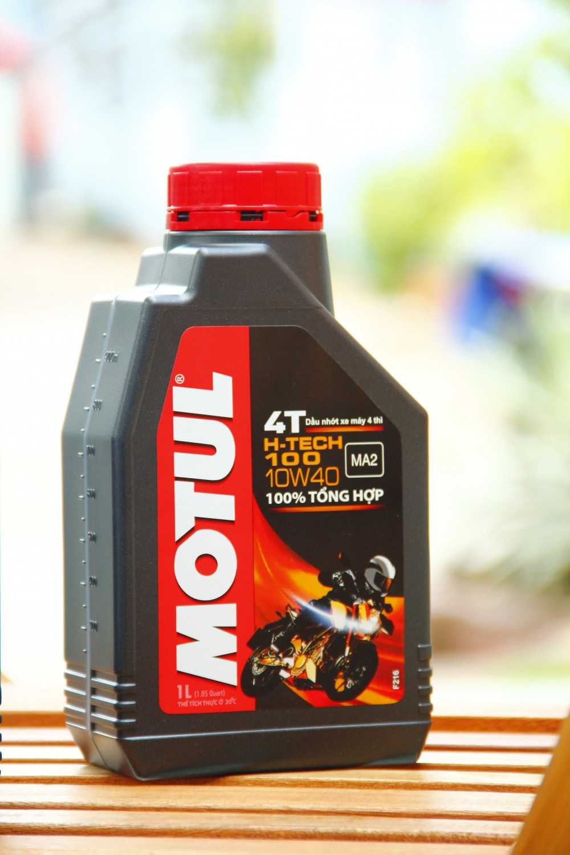 Cẩm nang sử dụng dầu nhớt motul cho các dòng xe