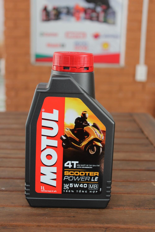 Cẩm nang sử dụng dầu nhớt motul cho các dòng xe - 6