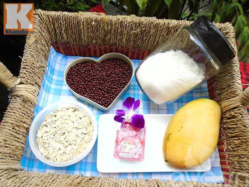 Chè đậu đỏ yến mạch mát bổ cho mùa hè - 1