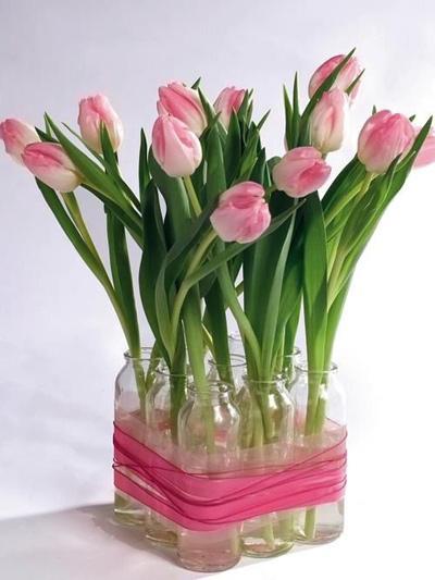 Đủ kiểu cắm hoa tulip dễ nhưng đẹp sang trọng - 7