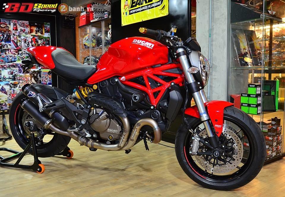 Ducati monster 821 cực chất bên dàn đồ chơi hàng hiệu - 1
