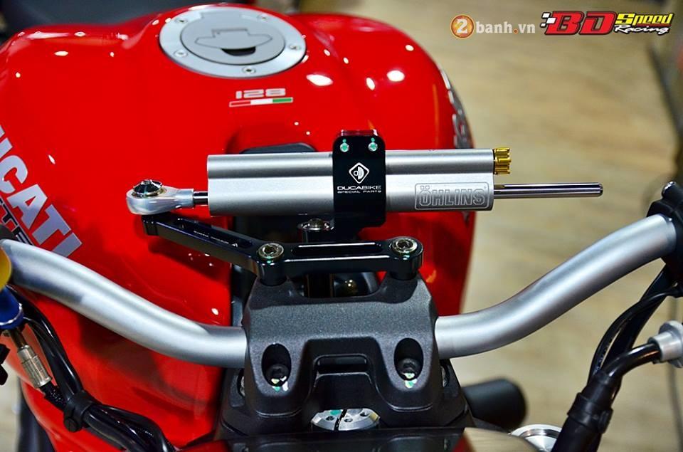 Ducati monster 821 cực chất bên dàn đồ chơi hàng hiệu - 5