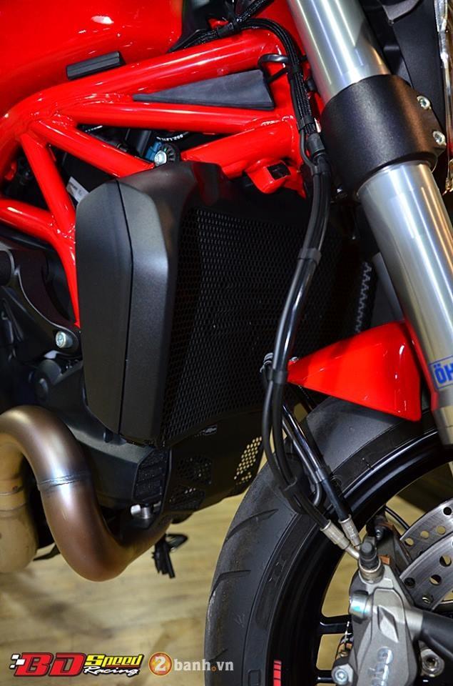 Ducati monster 821 cực chất bên dàn đồ chơi hàng hiệu - 6