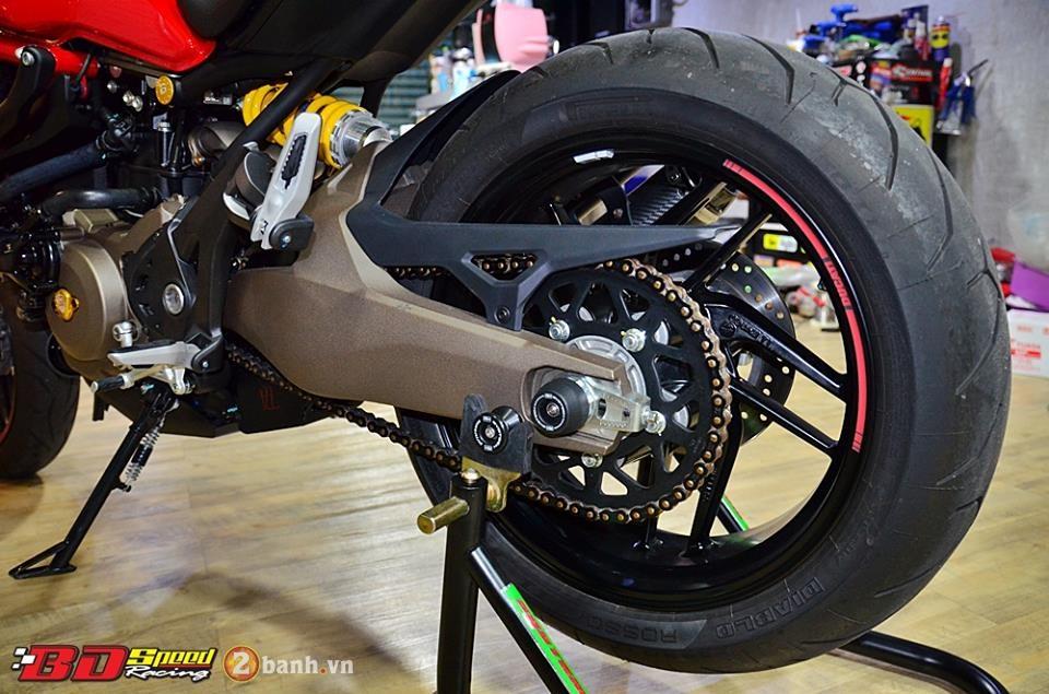 Ducati monster 821 cực chất bên dàn đồ chơi hàng hiệu - 15