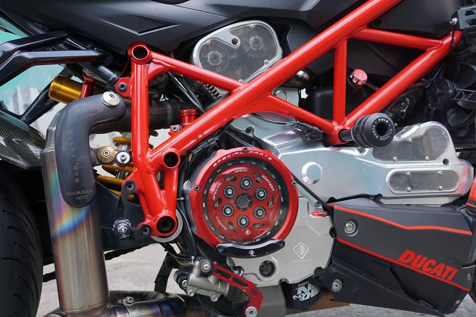 Ducati streetfighter 848 siêu chất với dàn đồ chơi khủng tại sài gòn - 6