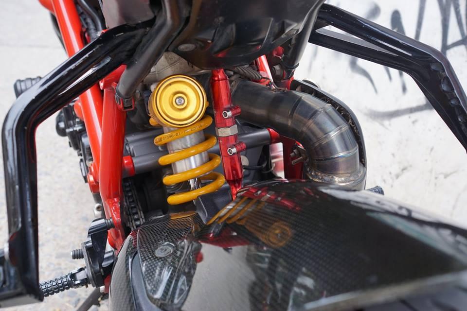 Ducati streetfighter 848 siêu chất với dàn đồ chơi khủng tại sài gòn - 7