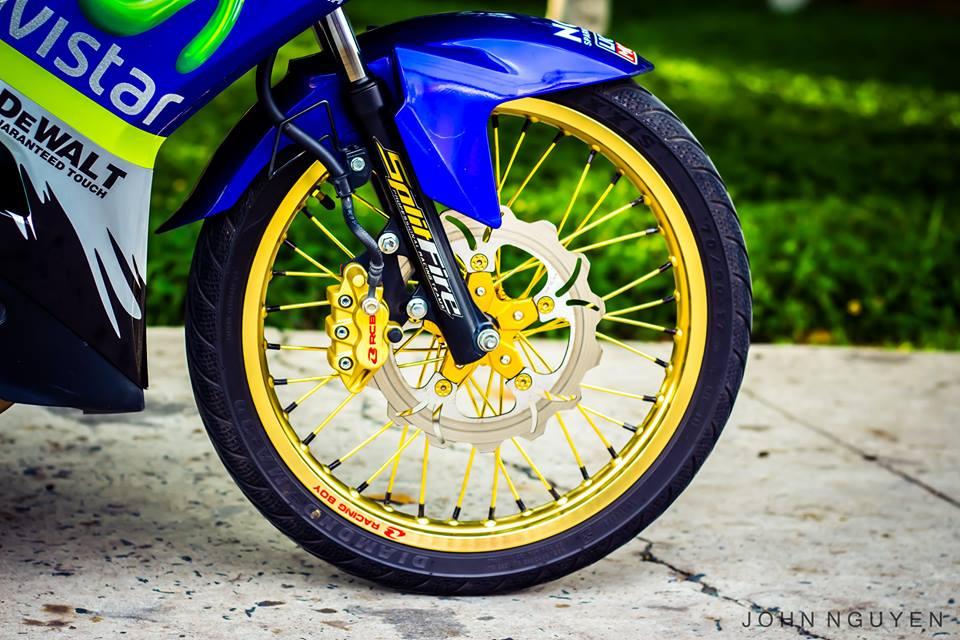 Exciter 150 độ drag phong cách movistar 46 edition - 6