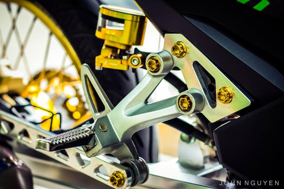 Exciter 150 độ drag phong cách movistar 46 edition - 8