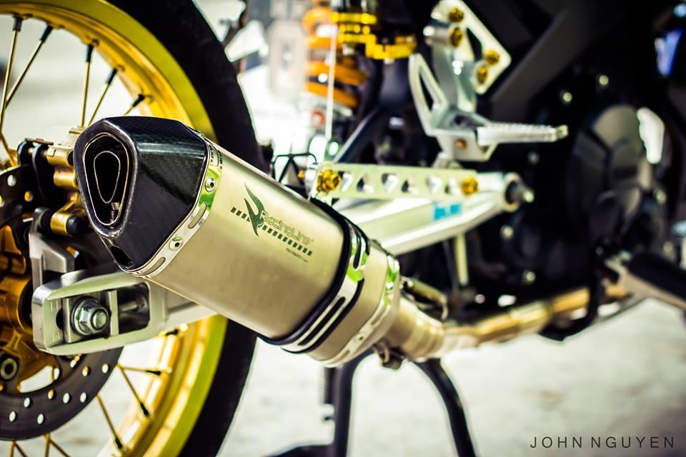 Exciter 150 độ drag phong cách movistar 46 edition - 9
