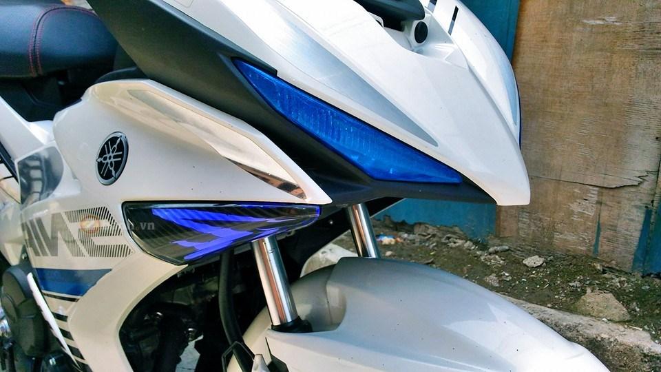 Exciter 150 trắng bạc tinh khôi của biker nước bạn